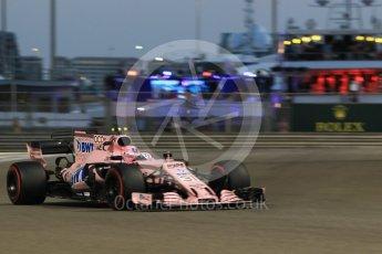World © Octane Photographic Ltd. Formula 1 - Abu Dhabi Grand Prix - Friday - Practice 2. Esteban Ocon - Sahara Force India VJM10. Yas Marina Circuit, Abu Dhabi. Friday 24th November 2017. Digital Ref: 2003CB1L6748