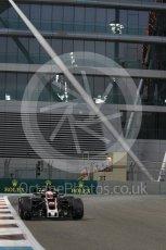 World © Octane Photographic Ltd. Formula 1 - Abu Dhabi Grand Prix - Friday - Practice 2. Kevin Magnussen - Haas F1 Team VF-17. Yas Marina Circuit, Abu Dhabi. Friday 24th November 2017. Digital Ref: 2003CB1L6804