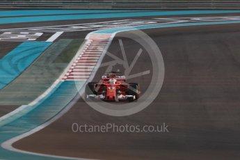 World © Octane Photographic Ltd. Formula 1 - Abu Dhabi Grand Prix - Friday - Practice 2. Sebastian Vettel - Scuderia Ferrari SF70H. Yas Marina Circuit, Abu Dhabi. Friday 24th November 2017. Digital Ref: 2003LB1D3135