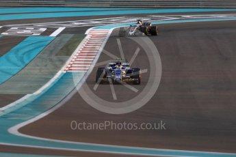 World © Octane Photographic Ltd. Formula 1 - Abu Dhabi Grand Prix - Friday - Practice 2. Pascal Wehrlein – Sauber F1 Team C36. Yas Marina Circuit, Abu Dhabi. Friday 24th November 2017. Digital Ref: 2003LB1D3196