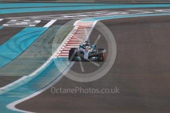 World © Octane Photographic Ltd. Formula 1 - Abu Dhabi Grand Prix - Friday - Practice 2. Lewis Hamilton - Mercedes AMG Petronas F1 W08 EQ Energy+. Yas Marina Circuit, Abu Dhabi. Friday 24th November 2017. Digital Ref: 2003LB1D3268