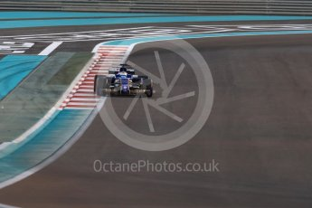 World © Octane Photographic Ltd. Formula 1 - Abu Dhabi Grand Prix - Friday - Practice 2. Marcus Ericsson – Sauber F1 Team C36. Yas Marina Circuit, Abu Dhabi. Friday 24th November 2017. Digital Ref: 2003LB1D3310