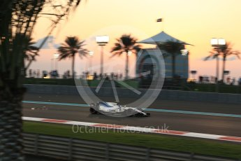 World © Octane Photographic Ltd. Formula 1 - Abu Dhabi Grand Prix - Friday - Practice 2. Lance Stroll - Williams Martini Racing FW40. Yas Marina Circuit, Abu Dhabi. Friday 24th November 2017. Digital Ref: 2003LB2D8820
