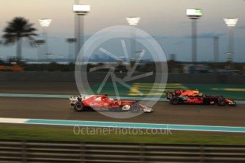 World © Octane Photographic Ltd. Formula 1 - Abu Dhabi Grand Prix - Friday - Practice 2. Sebastian Vettel - Scuderia Ferrari SF70H. Yas Marina Circuit, Abu Dhabi. Friday 24th November 2017. Digital Ref: 2003LB2D9330