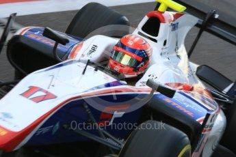 World © Octane Photographic Ltd. FIA Formula 2 (F2) - Practice. Santino Ferrucci – Trident. Abu Dhabi Grand Prix, Yas Marina Circuit. 24th November 2017. Digital Ref:2000CB5D9739