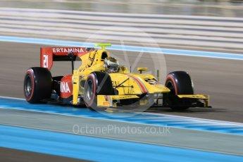 World © Octane Photographic Ltd. FIA Formula 2 (F2) - Qualifying. Sean Galael – Pertamina Arden. Abu Dhabi Grand Prix, Yas Marina Circuit. 24th November 2017. Digital Ref: