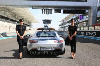 World © Octane Photographic Ltd. GP3 - Race 1. Mercedes AMG GTs Black Safety Car. Abu Dhabi Grand Prix, Yas Marina Circuit. Saturday 25th November 2017. Digital Ref: