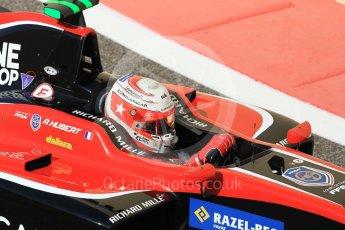 World © Octane Photographic Ltd. GP3 - Practice. Anthoine Hubert - ART Grand Prix. Abu Dhabi Grand Prix, Yas Marina Circuit. Friday 24th November 2017. Digital Ref:1999CB1L5475