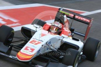 World © Octane Photographic Ltd. GP3 - Practice. Raoul Hyman – Campos Racing. Abu Dhabi Grand Prix, Yas Marina Circuit. Friday 24th November 2017. Digital Ref:1999LB5D9565