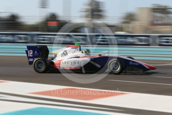 World © Octane Photographic Ltd. GP3 - Qualifying. Dorian Boccolacci – Trident. Abu Dhabi Grand Prix, Yas Marina Circuit. Friday 24th November 2017. Digital Ref: