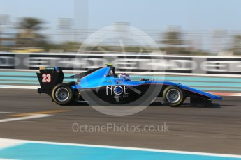 World © Octane Photographic Ltd. GP3 - Qualifying. Juan Manuel Correa – Jenzer Motorsport. Abu Dhabi Grand Prix, Yas Marina Circuit. Friday 24th November 2017. Digital Ref: