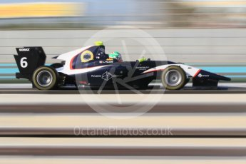 World © Octane Photographic Ltd. GP3 - Qualifying. Leonardo Pulcini - Arden International. Abu Dhabi Grand Prix, Yas Marina Circuit. Friday 24th November 2017. Digital Ref: