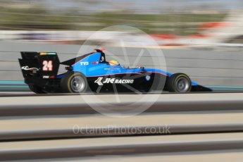World © Octane Photographic Ltd. GP3 - Qualifying. Arjun Maini – Jenzer Motorsport. Abu Dhabi Grand Prix, Yas Marina Circuit. Friday 24th November 2017. Digital Ref: