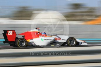 World © Octane Photographic Ltd. GP3 - Qualifying. Marcos Siebert – Campos Racing. Abu Dhabi Grand Prix, Yas Marina Circuit. Friday 24th November 2017. Digital Ref: