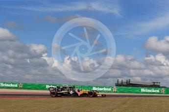 World © Octane Photographic Ltd. Formula 1 - American Grand Prix - Friday - Practice 2. Carlos Sainz - Renault Sport F1 Team R.S.17. Circuit of the Americas, Austin, Texas, USA. Friday 20th October 2017. Digital Ref: 1987LB2D6238