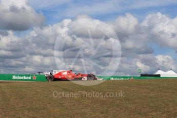 World © Octane Photographic Ltd. Formula 1 - American Grand Prix - Friday - Practice 2. Kimi Raikkonen - Scuderia Ferrari SF70H. Circuit of the Americas, Austin, Texas, USA. Friday 20th October 2017. Digital Ref: 1987LB2D6365