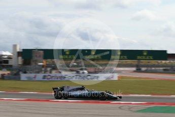 World © Octane Photographic Ltd. Formula 1 - American Grand Prix - Friday - Practice 2. Valtteri Bottas - Mercedes AMG Petronas F1 W08 EQ Energy+. Circuit of the Americas, Austin, Texas, USA. Friday 20th October 2017. Digital Ref: 1987LB2D6374
