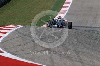World © Octane Photographic Ltd. Formula 1 - American Grand Prix - Sunday - Race. Lewis Hamilton - Mercedes AMG Petronas F1 W08 EQ Energy+. Circuit of the Americas, Austin, Texas, USA. Sunday 22nd October 2017. Digital Ref: 1994LB1D9774