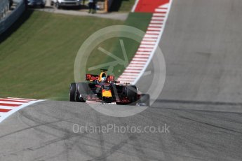 World © Octane Photographic Ltd. Formula 1 - American Grand Prix - Sunday - Race. Daniel Ricciardo - Red Bull Racing RB13. Circuit of the Americas, Austin, Texas, USA. Sunday 22nd October 2017. Digital Ref: 1994LB1D9925