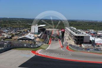 World © Octane Photographic Ltd. Formula 1 - American Grand Prix - Sunday - Race. Lewis Hamilton - Mercedes AMG Petronas F1 W08 EQ Energy+. Circuit of the Americas, Austin, Texas, USA. Sunday 22nd October 2017. Digital Ref: 1994LB2D7115