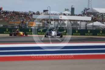 World © Octane Photographic Ltd. Formula 4 – F4 United States Championship - American Grand Prix – Race 1. Circuit of the Americas (COTA), Austin, Texas, USA. Saturday 21st October 2017. Blake Mount - JDX Racing and Russ McDonough IV - Group A Racing. Digital Ref:1982LB1D6914