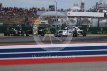 World © Octane Photographic Ltd. Formula 4 – F4 United States Championship - American Grand Prix – Race 1. Circuit of the Americas (COTA), Austin, Texas, USA. Saturday 21st October 2017. Digital Ref:1982LB1D7090