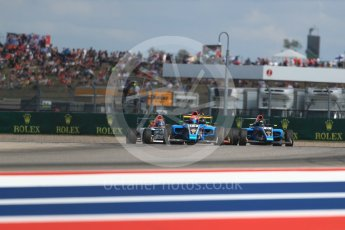 World © Octane Photographic Ltd. Formula 4 – F4 United States Championship - American Grand Prix – Race 1. Circuit of the Americas (COTA), Austin, Texas, USA. Saturday 21st October 2017. Dalton Peak and Parker Locke - Jay Howard's MDD. Digital Ref:1982LB1D7277