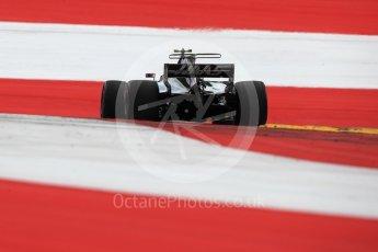 World © Octane Photographic Ltd. Formula 1 - Austria Grand Prix - Saturday - Qualifying. Kevin Magnussen - Haas F1 Team VF-17. Red Bull Ring, Spielberg, Austria. Saturday 8th July 2017. Digital Ref: 1869LB1D2522