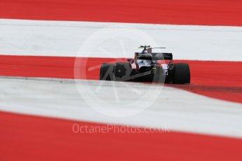 World © Octane Photographic Ltd. Formula 1 - Austria Grand Prix - Saturday - Qualifying. Carlos Sainz - Scuderia Toro Rosso STR12. Red Bull Ring, Spielberg, Austria. Saturday 8th July 2017. Digital Ref: 1869LB1D2578