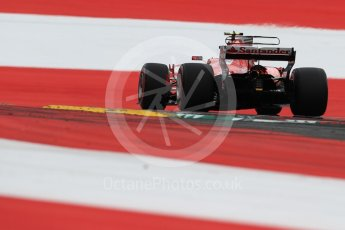 World © Octane Photographic Ltd. Formula 1 - Austria Grand Prix - Saturday - Qualifying. Kimi Raikkonen - Scuderia Ferrari SF70H. Red Bull Ring, Spielberg, Austria. Saturday 8th July 2017. Digital Ref: 1869LB1D2668