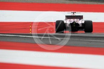 World © Octane Photographic Ltd. Formula 1 - Austria Grand Prix - Saturday - Qualifying. Sergio Perez - Sahara Force India VJM10. Red Bull Ring, Spielberg, Austria. Saturday 8th July 2017. Digital Ref: 1869LB1D2879