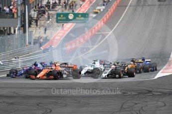 World © Octane Photographic Ltd. Formula 1 - Austria Grand Prix - Sunday - Race. Stoffel Vandoorne - McLaren Honda MCL32. Red Bull Ring, Spielberg, Austria. Sunday 9th July 2017. Digital Ref: 1875LB1D4850