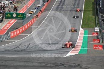 World © Octane Photographic Ltd. Formula 1 - Austria Grand Prix - Sunday - Race. Sebastian Vettel - Scuderia Ferrari SF70H. Red Bull Ring, Spielberg, Austria. Sunday 9th July 2017. Digital Ref: 1875LB1D4932