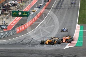 World © Octane Photographic Ltd. Formula 1 - Austria Grand Prix - Sunday - Race. Jolyon Palmer - Renault Sport F1 Team R.S.17. Red Bull Ring, Spielberg, Austria. Sunday 9th July 2017. Digital Ref: 1875LB1D5048
