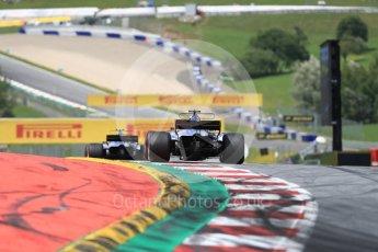 World © Octane Photographic Ltd. Formula 1 - Austria Grand Prix - Sunday - Race. Marcus Ericsson – Sauber F1 Team C36. Red Bull Ring, Spielberg, Austria. Sunday 9th July 2017. Digital Ref: 1875LB1D5183
