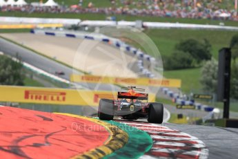 World © Octane Photographic Ltd. Formula 1 - Austria Grand Prix - Sunday - Race. Daniel Ricciardo - Red Bull Racing RB13. Red Bull Ring, Spielberg, Austria. Sunday 9th July 2017. Digital Ref: 1875LB1D5218