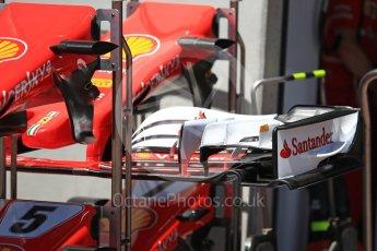 World © Octane Photographic Ltd. Formula 1 - Austria Grand Prix - Thursday - Pit Lane. Scuderia Ferrari SF70H. Red Bull Ring, Spielberg, Austria. Thursday 6th July 2017. Digital Ref: 1861LB1D8998