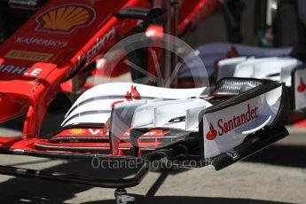 World © Octane Photographic Ltd. Formula 1 - Austria Grand Prix - Thursday - Pit Lane. Scuderia Ferrari SF70H. Red Bull Ring, Spielberg, Austria. Thursday 6th July 2017. Digital Ref: 1861LB1D9004