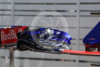 World © Octane Photographic Ltd. Formula 1 - Austria Grand Prix - Thursday - Pit Lane. Scuderia Toro Rosso STR12. Red Bull Ring, Spielberg, Austria. Thursday 6th July 2017. Digital Ref: 1861LB1D9073