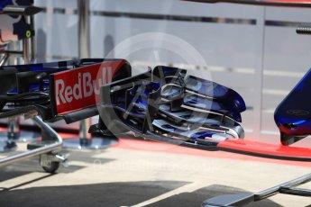 World © Octane Photographic Ltd. Formula 1 - Austria Grand Prix - Thursday - Pit Lane. Scuderia Toro Rosso STR12. Red Bull Ring, Spielberg, Austria. Thursday 6th July 2017. Digital Ref: 1861LB1D9076