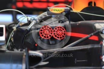 World © Octane Photographic Ltd. Formula 1 - Austria Grand Prix - Thursday - Pit Lane. Red Bull Racing RB13. Red Bull Ring, Spielberg, Austria. Thursday 6th July 2017. Digital Ref: 1861LB2D4133
