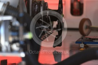World © Octane Photographic Ltd. Formula 1 - Austria Grand Prix - Thursday - Pit Lane. Williams Martini Racing FW40. Red Bull Ring, Spielberg, Austria. Thursday 6th July 2017. Digital Ref: 1861LB2D4314