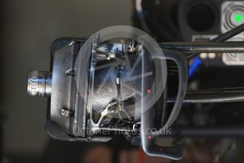 World © Octane Photographic Ltd. Formula 1 - Austria Grand Prix - Thursday - Pit Lane. McLaren Honda MCL32. Red Bull Ring, Spielberg, Austria. Thursday 6th July 2017. Digital Ref: 1861LB2D4334