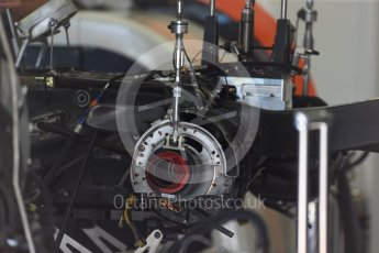 World © Octane Photographic Ltd. Formula 1 - Austria Grand Prix - Thursday - Pit Lane. McLaren Honda MCL32. Red Bull Ring, Spielberg, Austria. Thursday 6th July 2017. Digital Ref: 1861LB2D4353