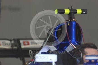 World © Octane Photographic Ltd. Formula 1 - Austria Grand Prix - Thursday - Pit Lane. Sauber F1 Team C36. Red Bull Ring, Spielberg, Austria. Thursday 6th July 2017. Digital Ref: 1861LB2D4378