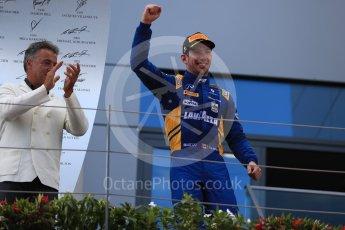 World © Octane Photographic Ltd. Formula 1 - Austria Grand Prix - Saturday - FIA Formula 2 Race 1. Nicholas Latifi - DAMS. Red Bull Ring, Spielberg, Austria. Saturday 8th July 2017. Digital Ref: 1863LB1D3217