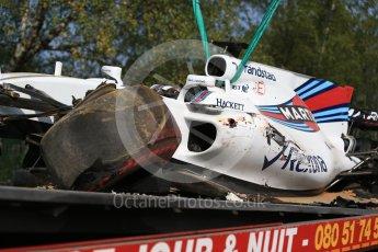 World © Octane Photographic Ltd. Formula 1 - Belgian Grand Prix - Friday - Practice 1. Felipe Massa - Williams Martini Racing FW40. Circuit de Spa Francorchamps, Belgium. Friday 25th August 2017. Digital Ref:1922LB2D5672