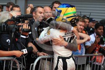 World © Octane Photographic Ltd. FIA Formula 2 (F2) - Race 2. Sergio Sette Camara – MP Motorsport. Belgian Grand Prix, Spa Francorchamps, Belgium. Sunday August 27th 2017. Digital Ref:1926LB1D7844