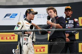 World © Octane Photographic Ltd. FIA Formula 2 (F2) - Race 2. Sergio Sette Camara – MP Motorsport. Belgian Grand Prix, Spa Francorchamps, Belgium. Sunday August 27th 2017. Digital Ref:1926LB1D8074