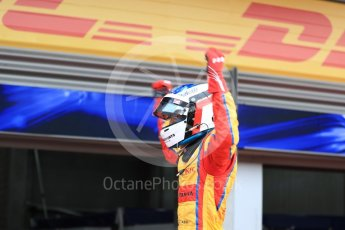 World © Octane Photographic Ltd. GP3 - Race 2. Guiliano Alsei – Trident. Belgian Grand Pix - Spa Francorchamps, Belgium. Sunday 27th August 2017. Digital Ref: 1930LB1D7614